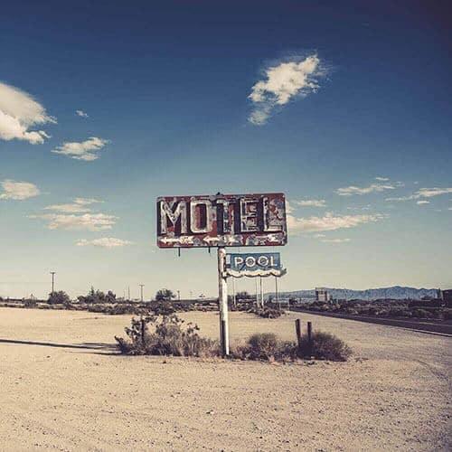Old School Motel Sign